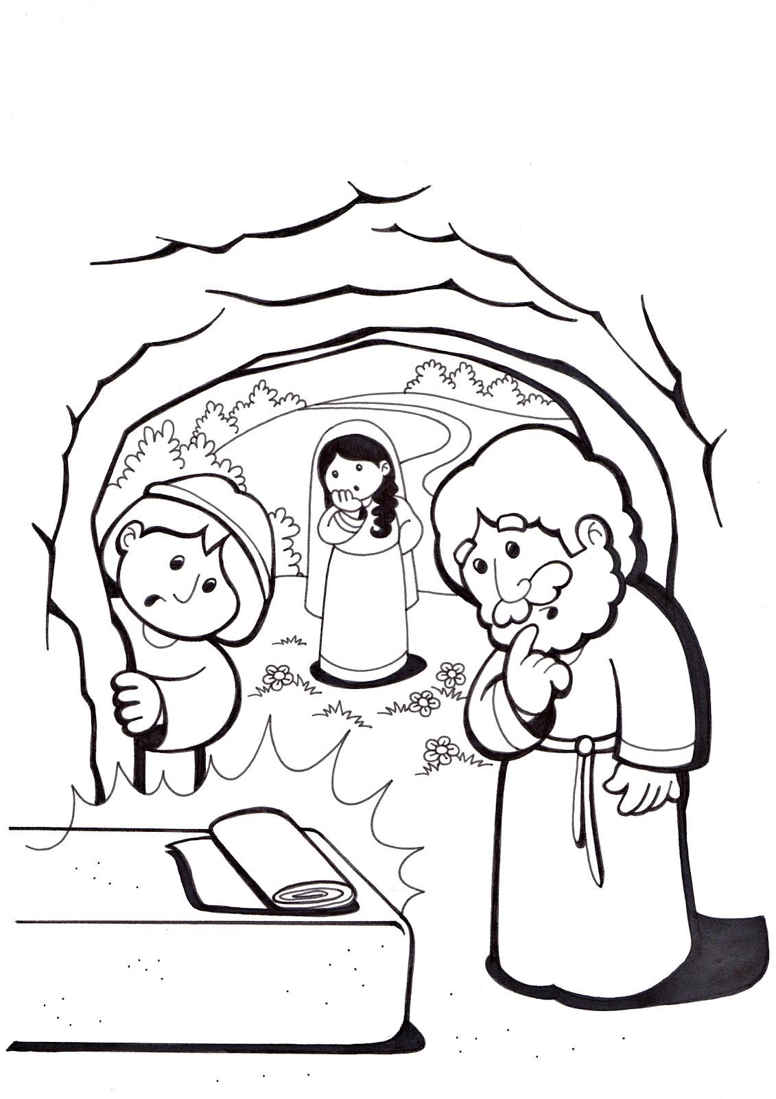 84 ausmalbilder jesus ist auferstanden  ausmalbilder